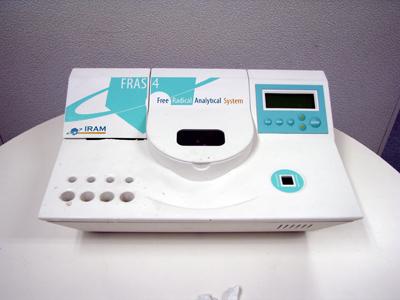 活性酸素(フリーラジカル)自動分析装置